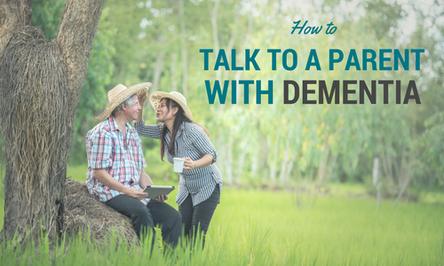 how to talk to dementia patients